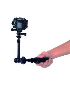 Palo Selfie aluminio Nilox Action Cam 360grados Selftime articulado aluminio 13NXAKACEF001