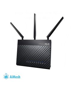 Router WIFI ASUS RT-AC68U AC1900 Dual-band Gigabit compatible Ai Mesh wifi