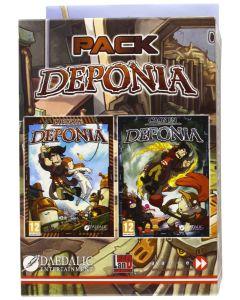 Pack DEPONIA 1 y 2 Juegos PC La fuga y Caos en Deponia