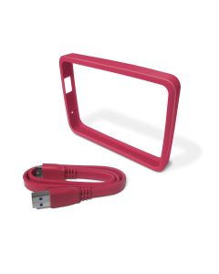 Protector Disco Duro WD para My Passport Ultra Incluye Cable USB 3.0 Rosa