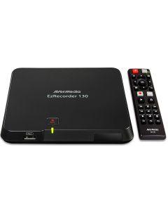 capturadora AverMedia HD EZRECORDER 130 HDMI Grabación programada MP4 (H.264 / AAC)