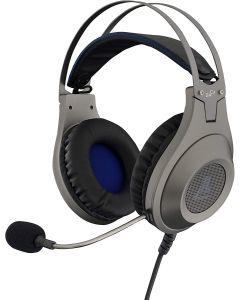 Auriculares G-Lab KORP CHROMIUM Plata Gaming X-TRA BASS Led Embalaje Abierto