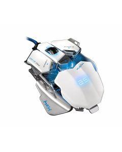 raton gaming Bluestork KULT 4 BS-GM-KULT4/W Led 10 botones Embalaje Abierto