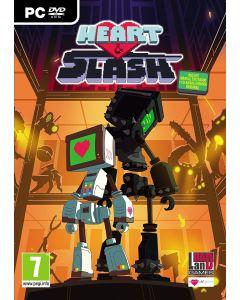videojuego PC HEART AND SLASH de plataformas con un Robot