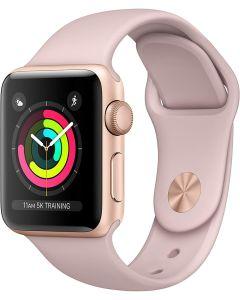 reloj Apple Watch Series 3 38mm Gold Aluminio Pink Sand Sports Band GPS