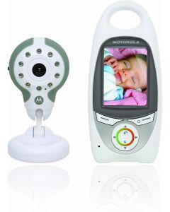 monitor de bebe MOTOROLA MBP31 microfono bidireccional video digital nanas vigilabebes