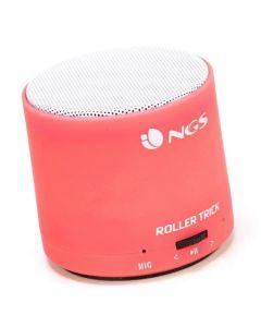 Altavoz Bluetooth NGS ROLLER TRICK ROJO para Smartphones/Tablets