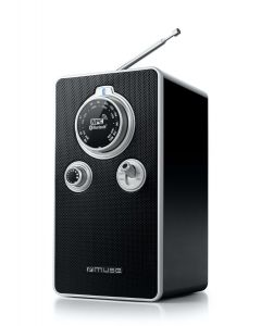 Radio Reloj MP3 Muse M-099 de mesa Bluetooth NFC conexion a movil