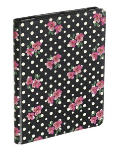 Funda Apple iPad 2 3 y 4 Accessorize ACZIPD3PD flores y lunares