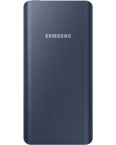 Batería Externa Samsung 10000 mAh Tipo C mini USB color azul CAJA ESTROPEADA