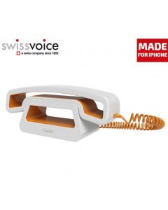 auricular SwissVoice EPure Mobile Naranja CH01 para movil iPhone Android