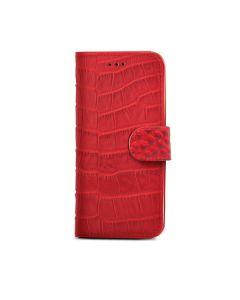 funda Apple iPhone 6 / 6S Celly CROCOWIPH6PRD piel cocodrilo roja