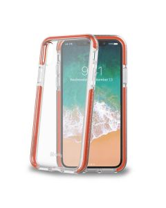 carcasa Iphone X ultra resistente HEXAGON900OR 5.8pulg Naranja