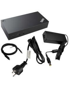Docking Lenovo Replicador puertos ThinkPad USB C-Dock 40A90090EU con fuente alimentacion