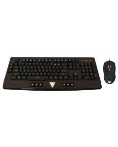 combo teclado y raton Gaming Gamdias Ares Essential GKC6000 iluminado Embalaje Abierto