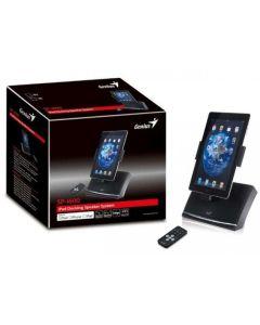 Genius SP-I600 Base Iphone altavoces y carga para iphone e Ipad Embalaje Abierto