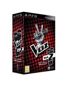 Video Juego LA VOZ Volumen 2, con 2 microfonos USB para SONY PS3 EMBALAJE DAÑADO
