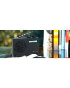Radio Portatil DAB+ Muse M-100 DB altavoz y jack RDS pilas y AC