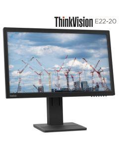 terminar monitor Lenovo ThinkVision E22-20 21.5pulg FullHD Embalaje Abierto