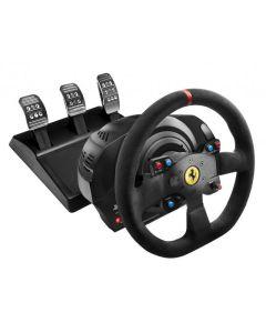 Volante Thrustmaster T300 Ferrari Integral Alcantara Edition PS4 PS3 PC con pedales