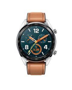 Smartwatch HUAWEI WATCH GT 46mm Plata con Correa Silicona Negra